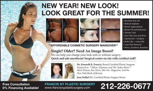 NYC Plastic Surgery Promosions